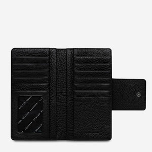 status anxiety wallet black ruins open flat