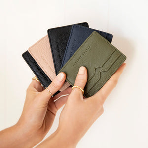 status anxiety wallet together for now khaki green colours