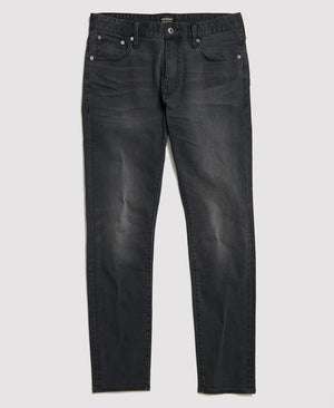 Superdry mens tyler slim jean in portland washed black image5