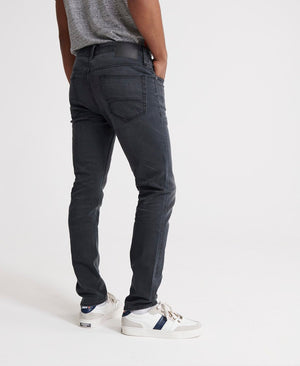 Superdry mens tyler slim jean in portland washed black image3