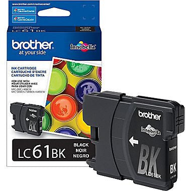 Brother inkjet Cartridge LC61 series, Standard Yield