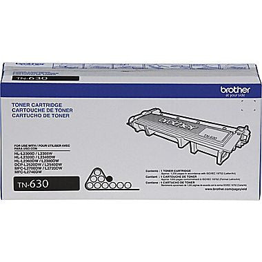 Brother TN-660 HY, TN-630 SY Laserjet Cartridge, black