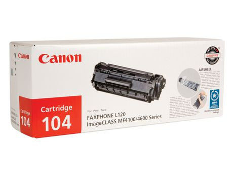 Canon Laserjet Cartridge 104, Black