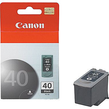 Canon inkjet CL-41 tri-color, and PG-40 Black