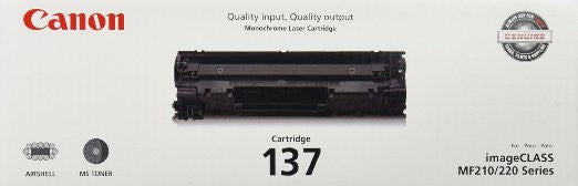 Canon Laserjet Cartridge 137, Black