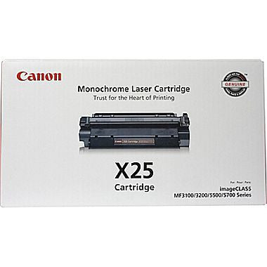 Canon Laserjet Cartridge X25, Black
