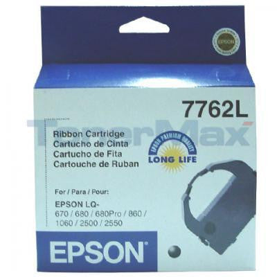 Epson Nylon Ribbon Cartridge 7762L, Black