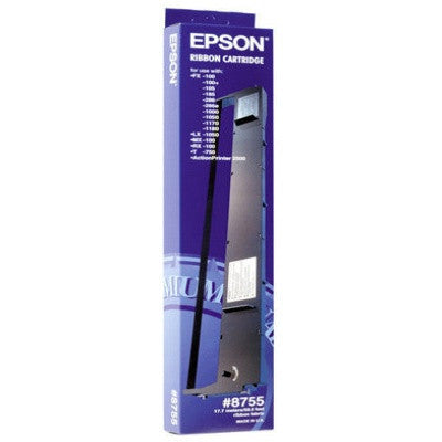 Epson Nylon Ribbon Cartridge 8755, Black