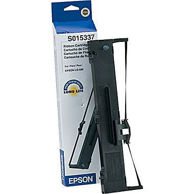 Epson Ribbon Cartridge S015337 Black