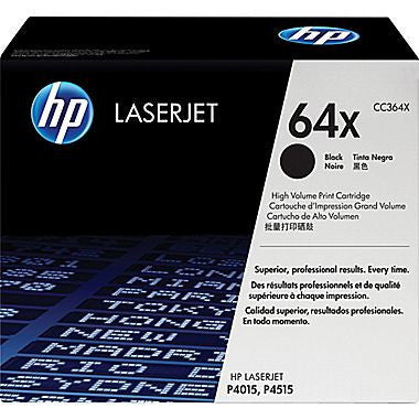 HP Laserjet Cartridge CC364A, CC364X, HP 64A, HP 64X, Black