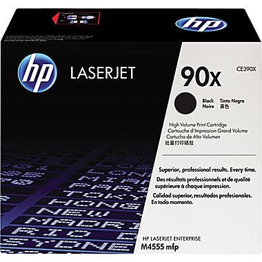 HP Laserjet Cartridge CE390A, CE390X, HP 90A, HP 90X, Black
