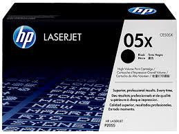 HP Laserjet Cartridge CE505A, CE505X, HP 05A, HP 05X, Black