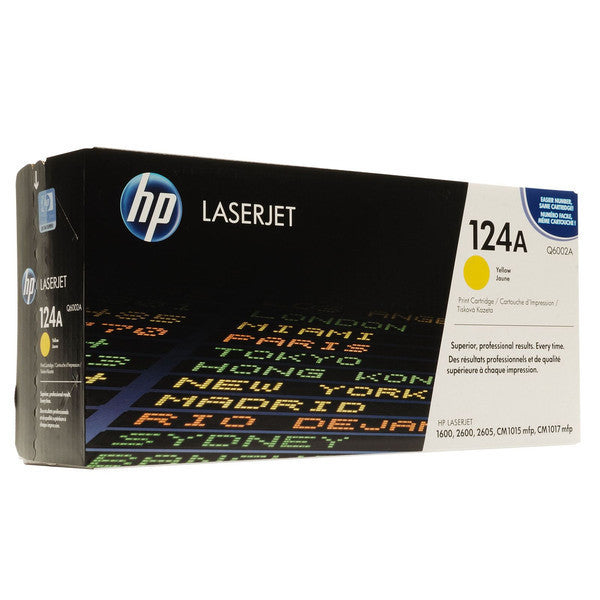 HP color Laserjet Cartridge HP 124A series