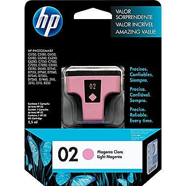 HP Inkjet Cartridge No. 02 series