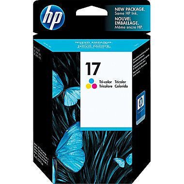 HP Inkjet Cartridge No. 17, tricolor