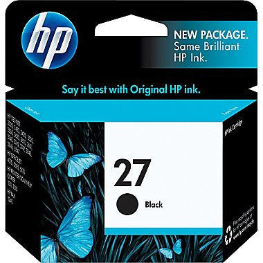 HP Inkjet Cartridge No. 27, Black