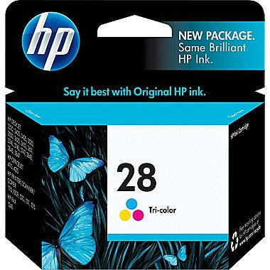 HP Inkjet Cartridge No. 28, Tri-color
