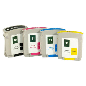 HP Inkjet Cartridge No. 10, black
