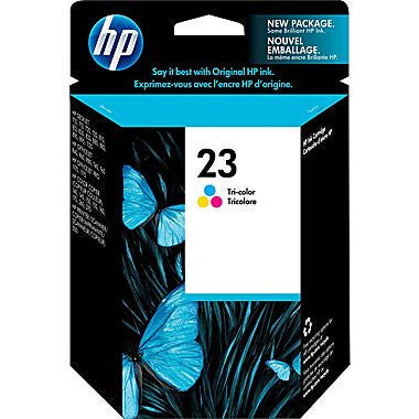 HP Inkjet Cartridge No. 23, Tricolor