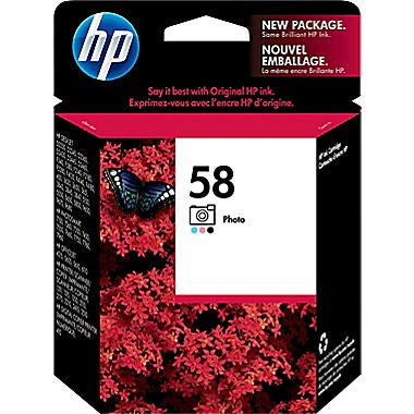 HP Inkjet Cartridge No. 58, Photo Ink