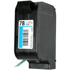 HP Inkjet Cartridge No. 78, Tri-color