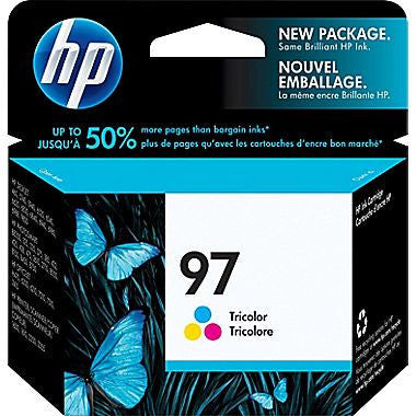 HP Inkjet Cartridge No. 97,  Tri-Color