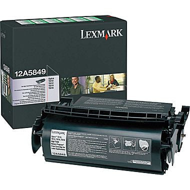 Lexmark laserjet cartridge Optra T series, black