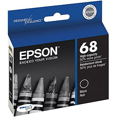 Epson inkjet 68 series, High Yield