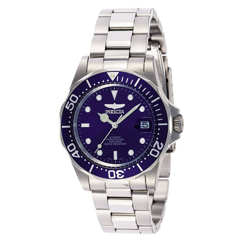 Invicta Men's 9094 Pro Diver Collection Stainless Steel Automatic Dress Watch with Link Bracelet