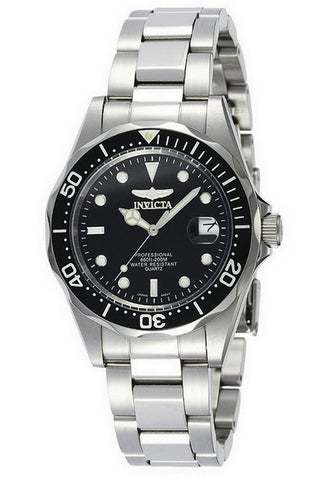 Invicta Pro Diver Black Dial Men's Watch 8932