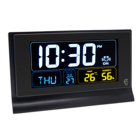 Multifunction LED Screen Digital Desk Alarm Clock