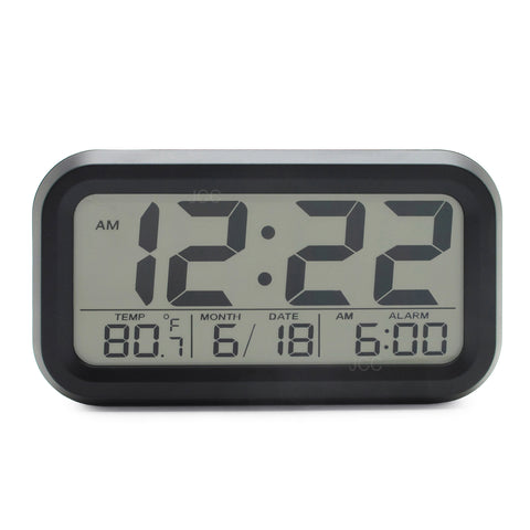 Innovation Smart Light Technology Night Vision Bold Number Digital Alarm Clock