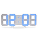 blue extra bright digital desk clock