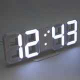 white led digital desk alarm clock