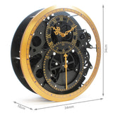 Jumbo Modern Moving Gear Wheel Wall Hanging Clock