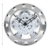14 inch moving gear wall hanging clock