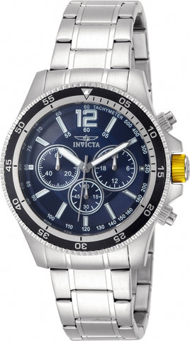 Invicta Men's 13974 Specialty Analog Display Japanese Quartz Silver Watch