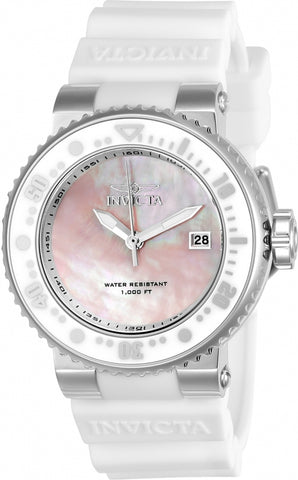 Invicta Pro Diver Oyster Mother of Pearl Dial Ladies Watch 22667
