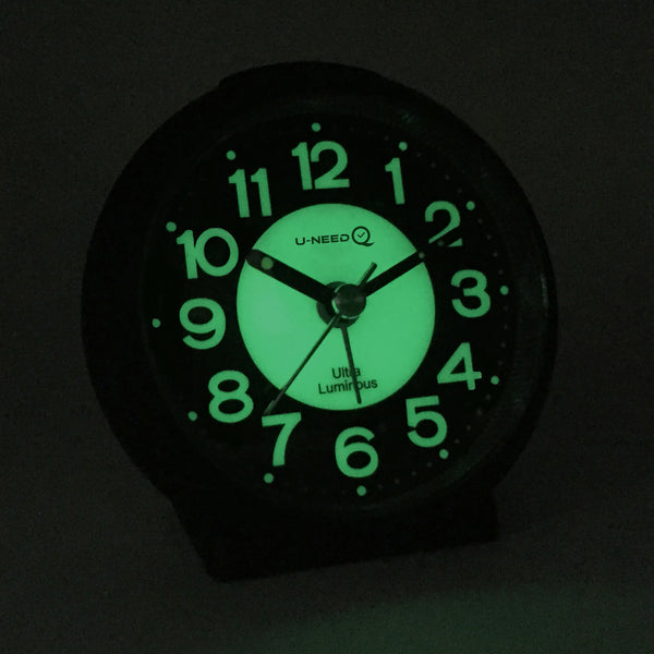 Jcc Charming Luminous Non Ticking Quartz Alarm Clock Jcc