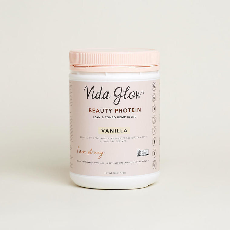 Vida Glow Beauty Protein (Chocolate, Vanilla)