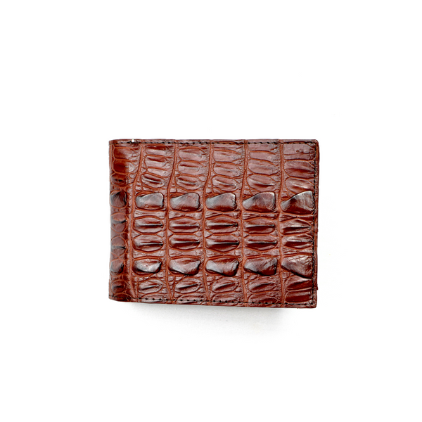 Genuine Exotic Crocodile skin wallet #0023