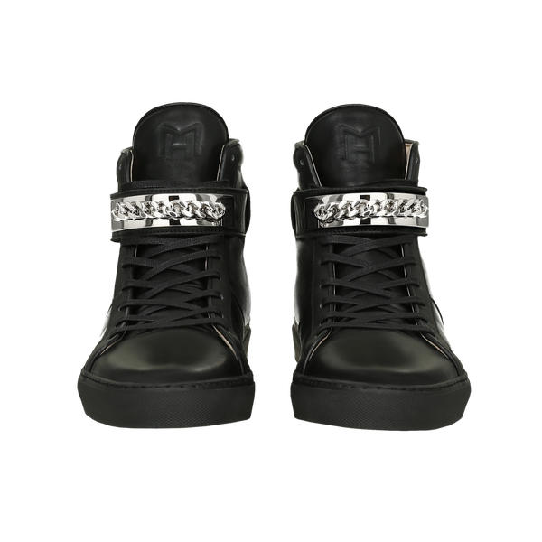 CLASSIC HIGH TOP WOMEN | HARLEM | BLACK-Women - Shoes - Sneakers-MARCUS HANUY-The Luxury Upgrade