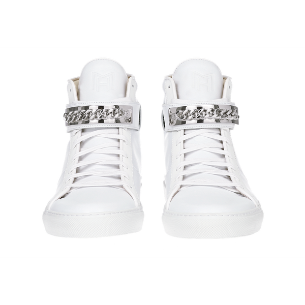 CLASSIC HIGH TOP WOMEN | HARLEM | WHITE-Women - Shoes - Sneakers-MARCUS HANUY-The Luxury Upgrade