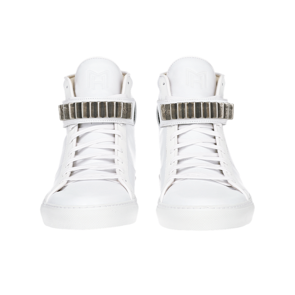 CLASSIC HIGH TOP WOMEN | KREUZBERG | WHITE-Women - Shoes - Sneakers-MARCUS HANUY-The Luxury Upgrade
