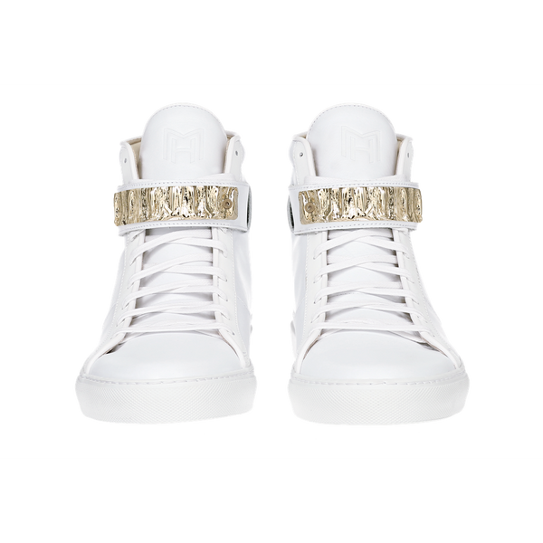 CLASSIC HIGH TOP WOMEN | SHIBUYA | WHITE-Women - Shoes - Sneakers-MARCUS HANUY-The Luxury Upgrade