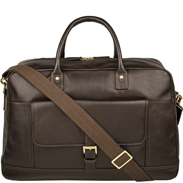 Hunter Cabin Sized Duffel in Classic Leather-Men - Bags - Duffels-Hidesign-The Luxury Upgrade