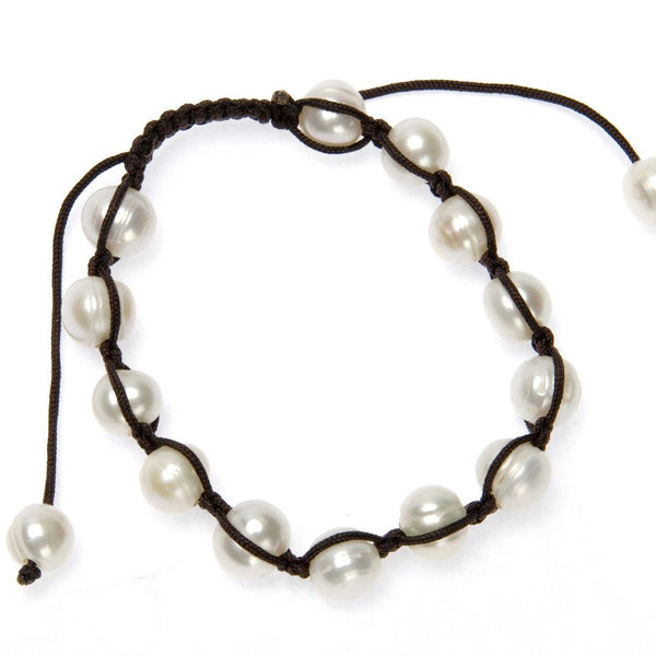 Indu Pearl Bracelet-Women - Jewelry - Bracelets-Peace + Love +Bling ~ Ethical is Beautiful-The Luxury Upgrade