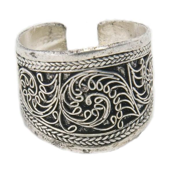 Maya Tibetan Silver Ring-Women - Jewelry - Rings-Peace + Love +Bling ~ Ethical is Beautiful-The Luxury Upgrade