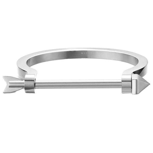 Mister Arrow Bracelet-Men - Jewelry - Bracelets-Mister LLC-Chrome-XS-The Luxury Upgrade