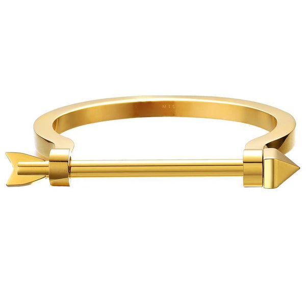 Mister Arrow Bracelet-Men - Jewelry - Bracelets-Mister LLC-Gold-XS-The Luxury Upgrade